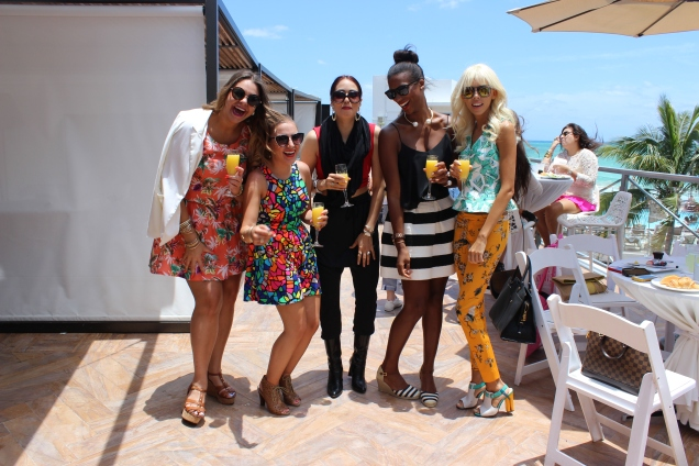 The Fab Bloggers at MIAFW Brunch