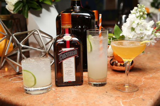 A holiday soiree cointreau cocktail recipes the fashion for Cointreau mixed drinks